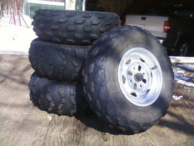 Rincon Stock Tires Rims For Sale Wisconsin Honda Atv Forum