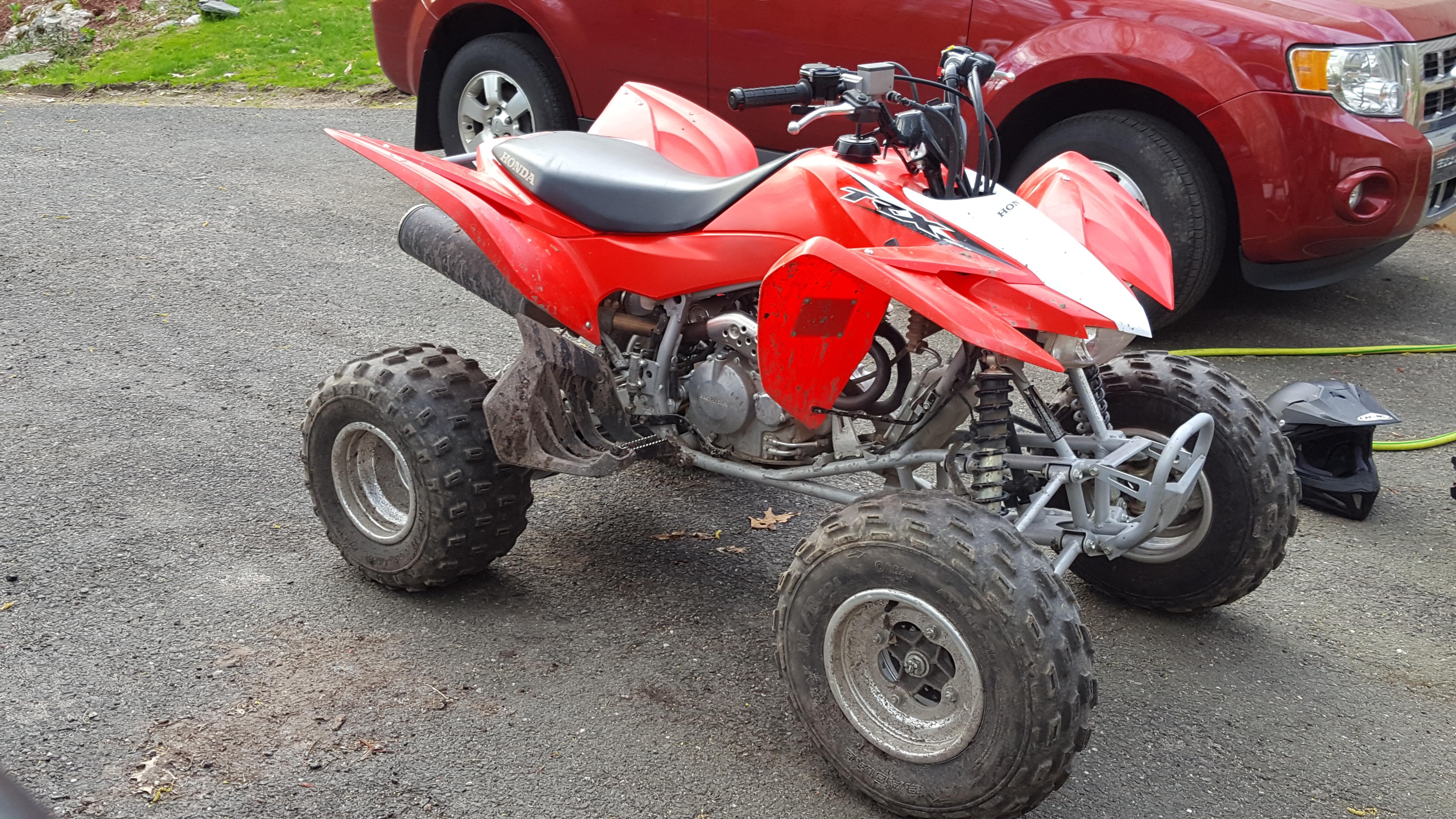TRX250 or TRX400 for Experienced 14 Year Old - Honda ATV Forum
