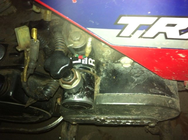 TRX200 no spark - Honda ATV Forum