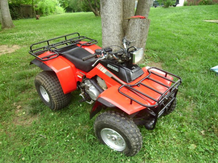 Honda Foreman For Sale >> Barn Find: Value needed for almost mint 1987 TRX250 Fourtrax - Honda ATV Forum