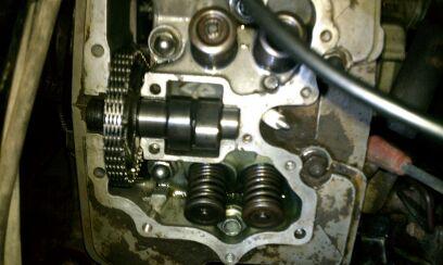 87 fourtrax 350 engine rebuild/timing help - Honda ATV Forum