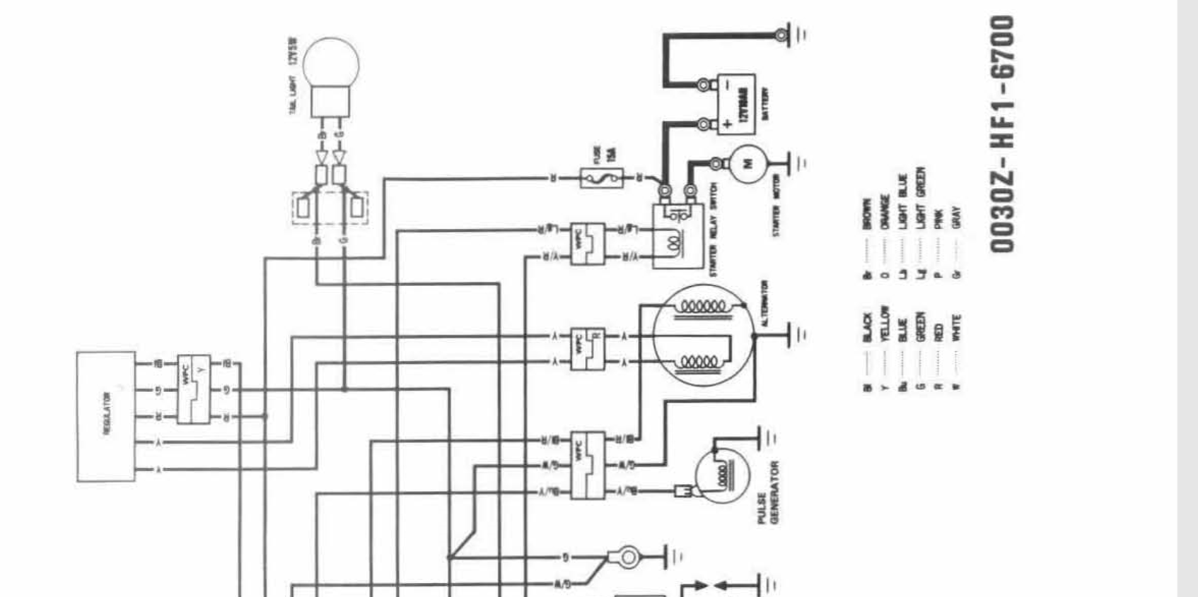 honda trx wiring diagram