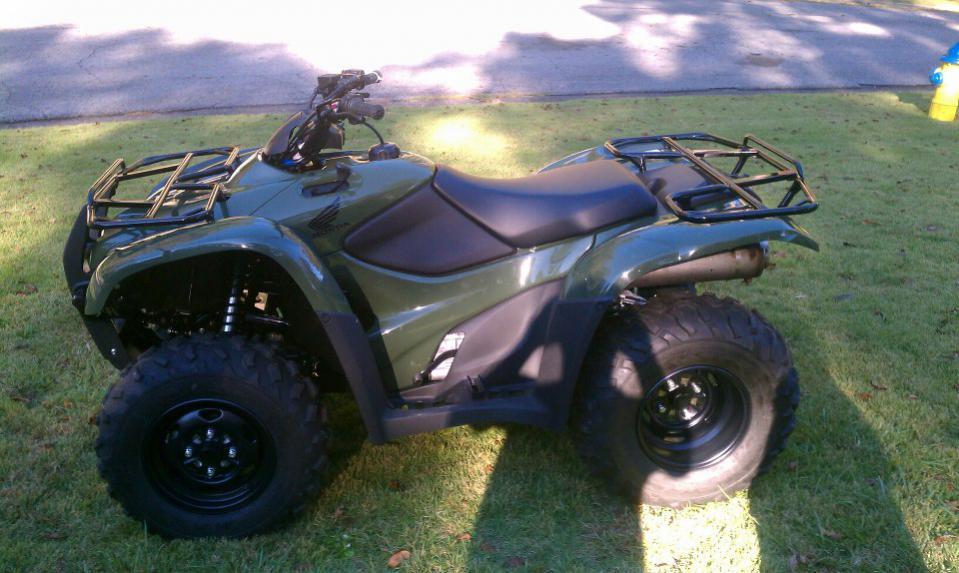 Honda Rancher 420 Green
