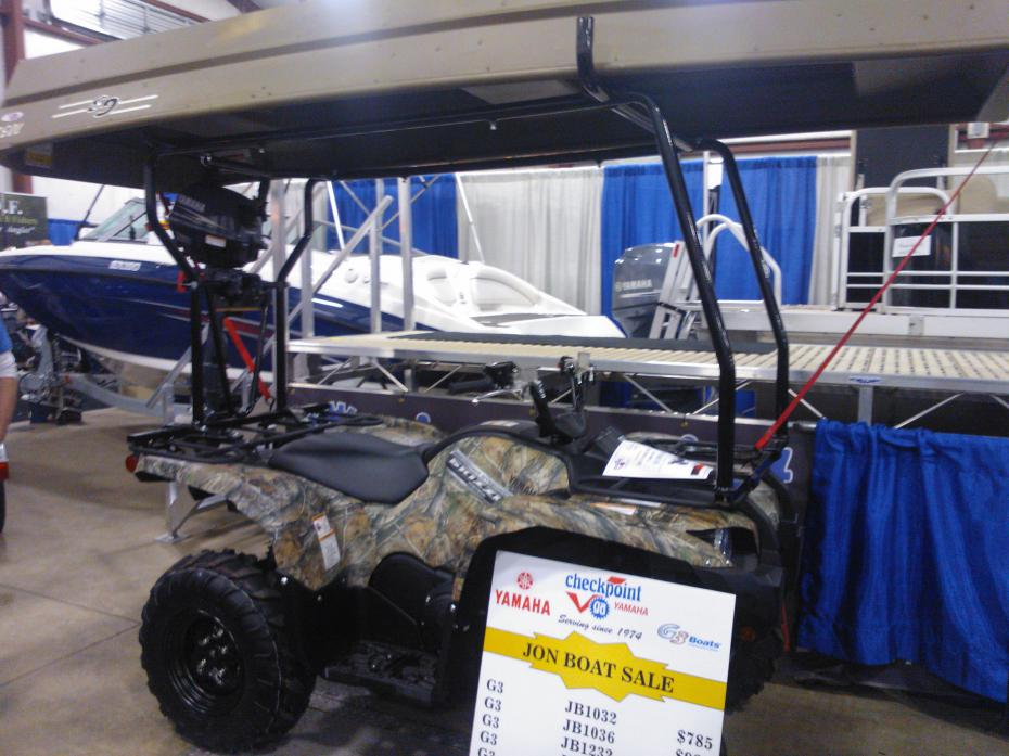 ... Homemade ATV Canoe Rack likewise Polaris ATV Gun Rack. on homemade atv